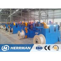 Cheap High Speed Horizontal Wire Taping Machine , Fire Resistance Cable Making Machine wholesale