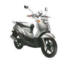 Cheap CDI Blue Gas Powered Motor Scooters Large Turtle 125 For Short Trip wholesale