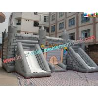 Cheap Kids Commercial Inflatable Bouncer Slide , Outside Magic Castle wholesale