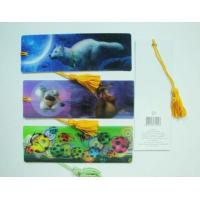 Cheap PLASTIC LENTICULAR authorized 3D printing Flip Effect fancy lenticular bookmark made in China wholesale