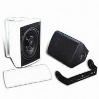 Cheap Triangular Black/White Dipolar Speaker Cabinets, Comes in Various Sizes wholesale