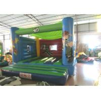 Cheap Attractive Blow Up Jump House 0.55mm Pvc , Outdoor Games Toddler Bounce House wholesale