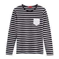 Green And White Striped Long Sleeve Shirts Images Green