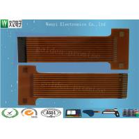 Buy cheap Sink Gold 2mm Pitch FPC Flexible Printed Circuit , Silkscreen Flex Circuit Board from wholesalers