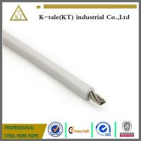 Buy cheap 7x19 PU coated Stainless steel wire rope (1.8mm PU 2.38mm) from wholesalers