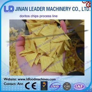 Cheap Automatic corn chips doritos processing line corn snack making machine wholesale