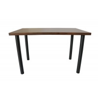 Buy cheap Walnut Grain Paper Veneer Edge 36mm Wood Dinning Room Table from wholesalers
