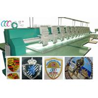 Cheap Leather Clothing / bag / Shoe Computerized Embroidery Machine 12 Head wholesale