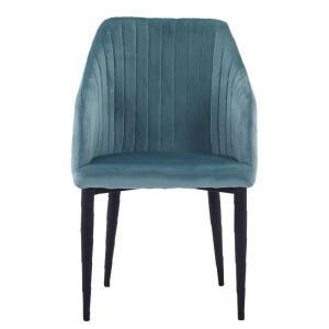 Cheap Upholstered 89cm Height Modern Dining Armchair For Restaurant wholesale