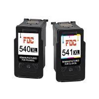 Cheap Canon Remanufactured Ink Cartridges , PG - 540 Ink Cartridges Pixma MG4250 Refill wholesale