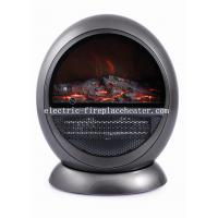 Cheap High Efficiency Safety Rotating European Electric Fireplace PTC Fan Heater wholesale