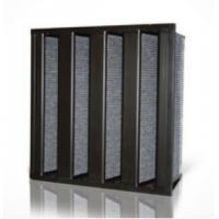 Cheap High Efficiency Activated Carbon Air Filter V Bank Air Filter Hepa Filtration Grade: wholesale