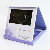 """Buy cheap Magnetic Switch Greeting Brochure Card Box Video Packaing Lcd Video Screen 5"""" 7"""" from wholesalers"""