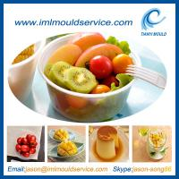 Cheap injection moulding of 450ml plastic soup bowl and container for thin wall wholesale