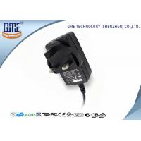 China 12V 1.5A Switching Power Adapter / wall mount adapter 18W for Electrical Equipments on sale