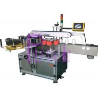 China Square Bottle Labeling Machine With Single Side 1000W 220V 50HZ on sale