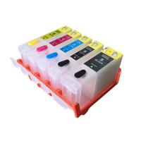 Cheap Color Compatible Printer Ink Cartridges , Black / Yellow Canon Refillable Ink wholesale