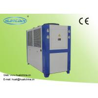 Cheap Air Cooled Industrial Chiller For Injection Machine Air Cooled Galvanized Sheet Shell wholesale