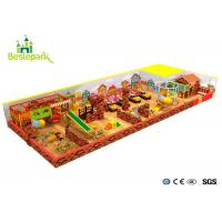 Cheap Commercial Centers Baby Indoor Playground Colorful With PVC Soft Covering wholesale