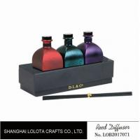 Cheap Sweet Smelling Home Reed Diffuser Set Customized Color With Rattan Stick wholesale