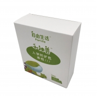 Cheap White paper Box Small Size Thin Carton Paper Box With Offset Printing wholesale