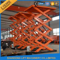 Buy cheap Material Handling Warehouse Elevator Lift , Hydraulic Upright Scissor Lift from wholesalers