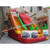 Cheap OEM Inflatable Big Commercial Inflatable Slip and Slide Combo Rental for  family fun wholesale