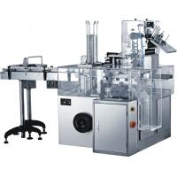 Cheap GMP Standard 0.75KW Automatic Cartoning Machine For Food / Cosmetic Industry wholesale