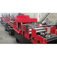 Cheap Dual Holes Punching C Purlin Roll Forming Machine Hydraulic 14 MPa Work Pressure wholesale