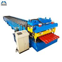 Cheap Color Steel Metal Glazed Tile Tile Roll Forming Machine For Outdoor Decorate wholesale
