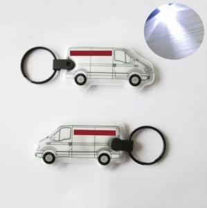 Cheap PVC key chain with light wholesale