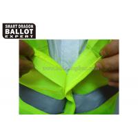 Cheap High Visibility Security Reflective Vests With Reflective Srips Uniforms Clothing wholesale