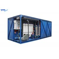 China Mobile Reverse Osmosis Mobile Water Treatment Plant  for Drinking on sale