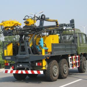 Cheap 100m Depth 110mm Diameter Anchor Mobile Drilling Rigs wholesale