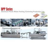 Cheap Pharmaceutical Packaging Line Alu Plastic Blister Carton Packaging Production Line wholesale