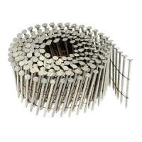 Cheap 15 Degree Smooth Shank Pallet Coil Nails For Wood Packing 1-1/2 x .0.083 in. wholesale