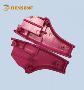 Precision Automotive Plastic Moulding , Red Auto Interior Trim Molding
