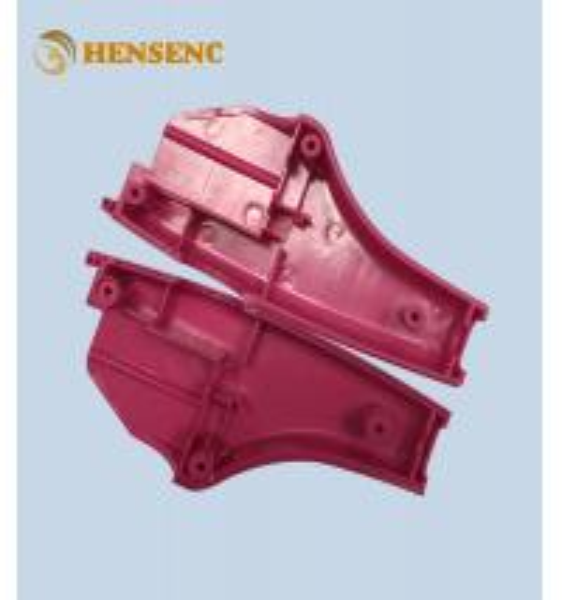 Quality Precision Automotive Plastic Moulding , Red Auto Interior Trim Molding for sale
