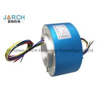 China Lead free100mm through bore electrical slip ring / miniature slip ring Max speed:500RPM on sale