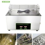 Cheap Heated Industrial Pump Digital Ultrasonic Cleaning Machine Automatic 30l Tank wholesale