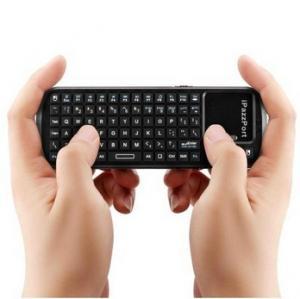 Cheap Multi-Media Wireless iPad Bluetooth Keyboards / QWERTY Keyboard With Charge Indicator wholesale