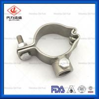 """Cheap SS 304 Welded Sanitary Pipe Holder 1/2""""-4"""" High Strength Long Working Life wholesale"""