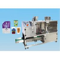 Cheap Horizontal Form Fill Seal  Premade Pouch Machine For Stand Up Pouch / Doy Pack wholesale