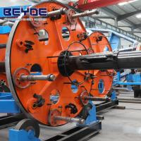 Drum Type Cable Laying Machine Assembling Plate With Transmission System
