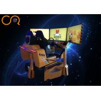 Jishi 9D VR Racing Simulator 3dof Motion Seats Coin Operated Virtual Reality Speed Crazy Racing Car