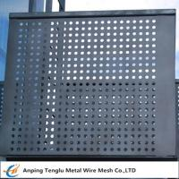 Cheap Perforated Metal Mesh Panels 1220X2440mm Standard Size With Opening 1~30mm wholesale
