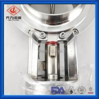 Cheap Stainless Steel Sanitary Butterfly Valve Durable Pneumatic Actuator Control wholesale