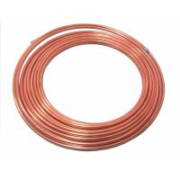 Cheap Compressor Double wall coil weld copper coated steel tube, high pressure pipe for auto brake tube wholesale