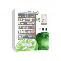 Buy cheap High Grade Big Capacity Drink Vending Machine With 22 Inch Advertising Display from wholesalers