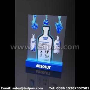 Cheap Ledpos Absolut Vodka Bottle Sign for sale